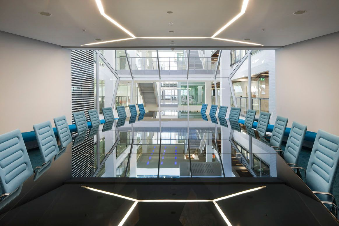 office workspace interior admirable great office meeting room blue glass top modern office